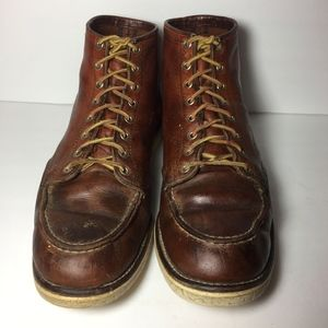Irish Setter Red Wing Brown Boots Size 13 B